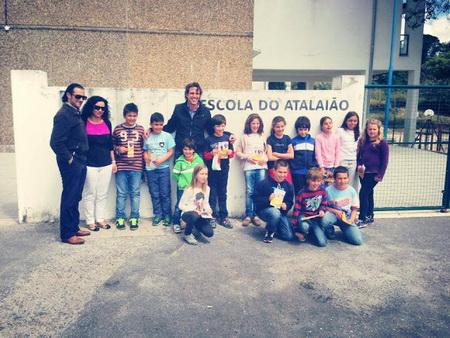 Marcos Bastinhas e Toiros + em escola de Portalegre
