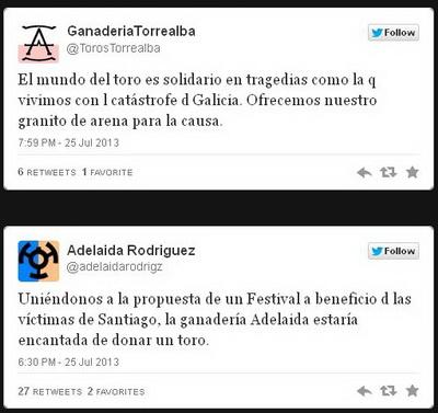 tourada a favor das vitimas de Santiago de Compostela1