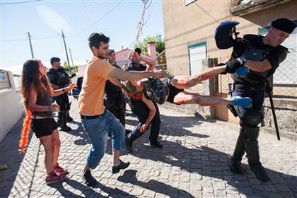 Brutalidade policial Viana