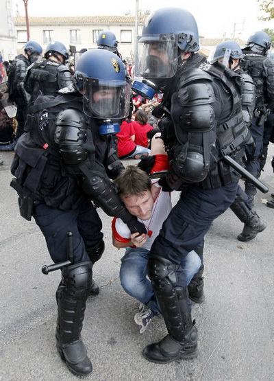 Rodilhan violencia policial1