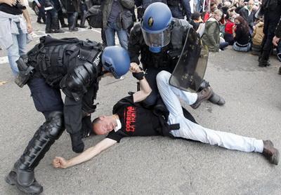 Rodilhan violencia policial2