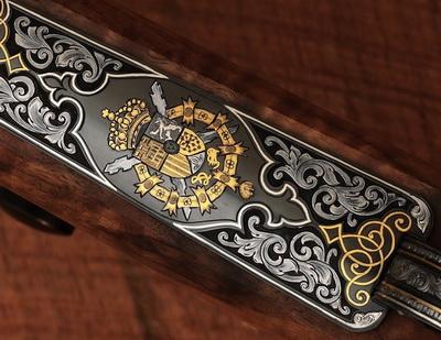 arma de caca rei de Espanha