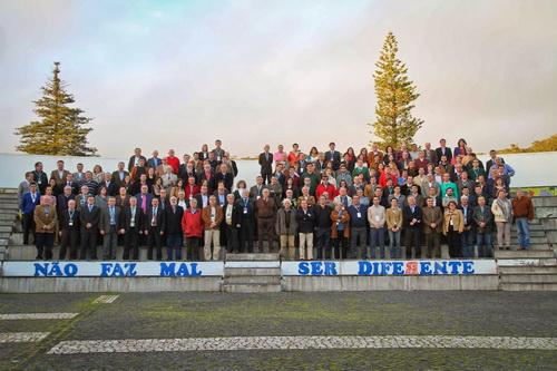 Imagem de grupo dos participantes do III Forum Mundial da Cultura Taurina