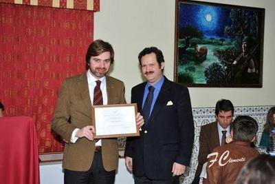 Joao Almeida com presidente da ATCT