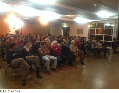 Reunião entre associações taurinas 13.3.2014