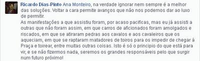 comentario de Ricardo Dias Pinto