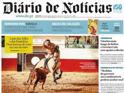 diario de noticias capa