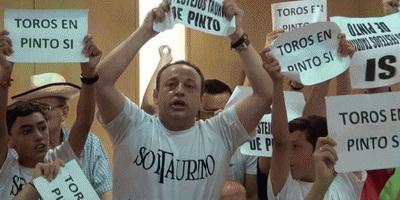 aficionados invadem autarquia Pinto Espanha