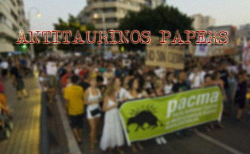 anti touradas papers