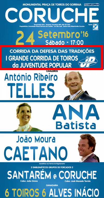 tourada da juventude do cds pp