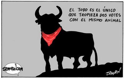 o touro e o unico que...